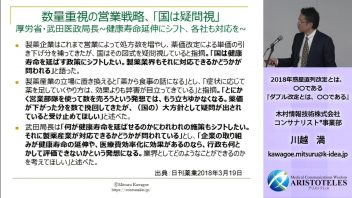 【第18回MBA交流会】 3.川越 満氏「ダブル改定とは〇〇である」出版記念特別講演会
